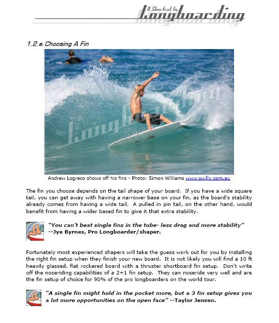 A Shortcut to Longboarding by Lee Ryan - Sample Page